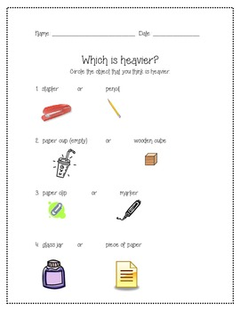 Which is Heavier?