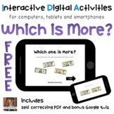 Which is More? ⋅ Digital PDF ⋅ Interactive FREE Activities