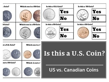 Is this a US Coin? Discriminating between US and Canadian Coins in Change