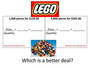 Which is a better deal?