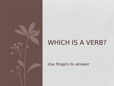 Which is a verb?