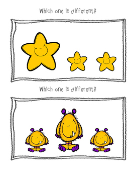 Which one is Different? A Same/Different Activity