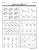 Which one is Different (Long U Words)? Visual Discrimination Activity Sheets