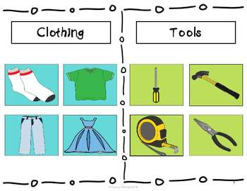 Which one is it? Sorting Into Categories, A Leveled Activity Set 3