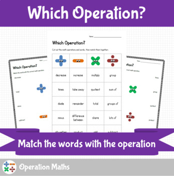 Math Operations - Which Operation?