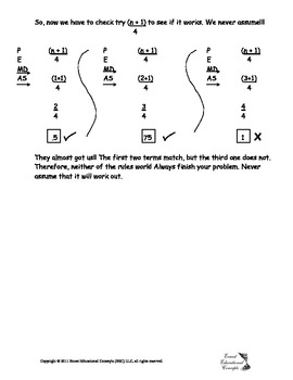 Which rule applies to which sequence? Notes