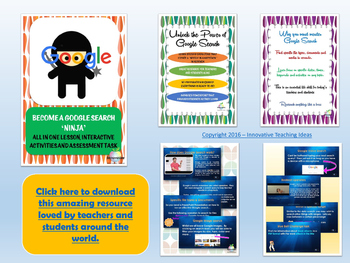 Which search tool should I use? Classroom Poster