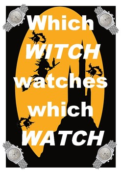 FREE - Tongue Twister - Halloween - Which Witch