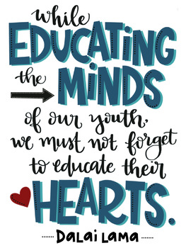 While Educating the Minds of Our Youth...