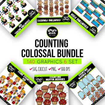 Counting Clipart Bundle
