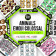 While I Draw $5 Deal Emoji Clip Arts BEHEMOTH Bundle