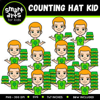 Saint Patrick's Day Counting Clip Arts COLOSSAL Bundle