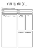 While You Were Out: CRT Feedback Form