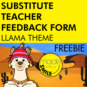 While You Were Out Substitute Form