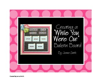 """While You Were Out"" bulletin board"