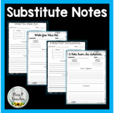While You Were Out note page for Subs