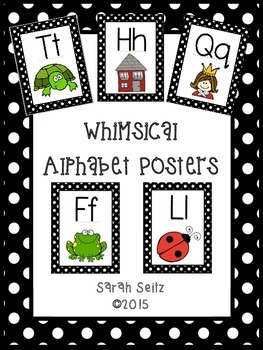 Whimsical Alphabet Posters