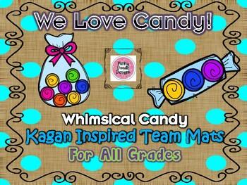 Whimsical Candy Kagan Inspired Team Mats