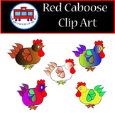Free Chicken Clip Art (Whimsical)