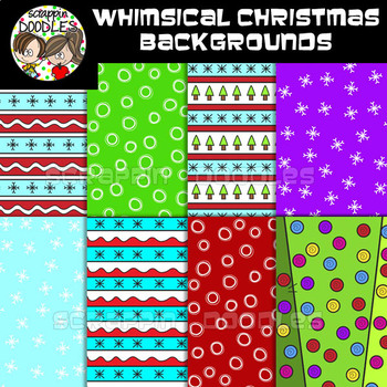 Whimsical Christmas Backgrounds