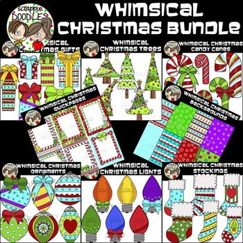 Whimsical Christmas Bundle {$34.00 Value - 168 Graphics}