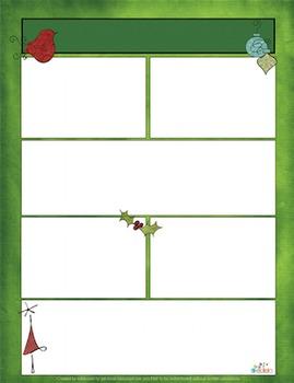 Whimsical Christmas Newsletter for Word