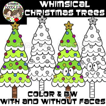 Whimsical Christmas Trees