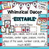 Whimsical Decor Huge Editable Bundle