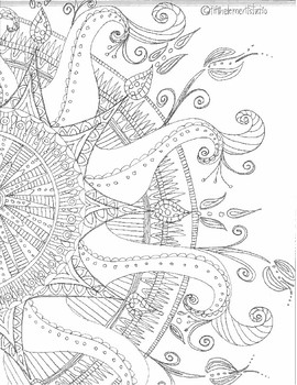 Whimsical Doodle Art