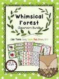 Whimsical Forest Themed Classroom Decor Bundle