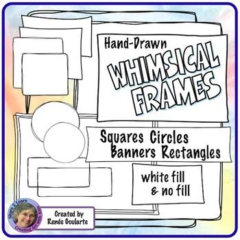Whimsical Frames - Assorted Shapes