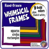 Whimsical Frames Bold Colors