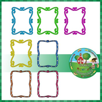 Whimsical Frames Clipart