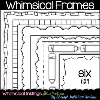 Whimsical Frames Clipart Collection