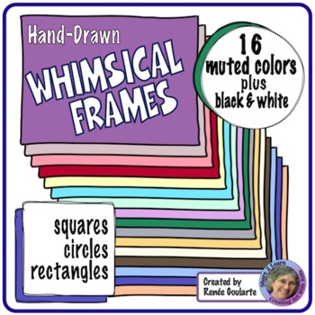 Whimsical Frames Muted Colors
