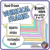 Whimsical Frames Pastel Colors