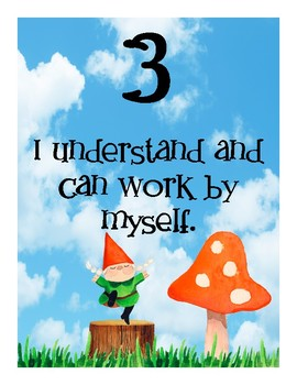 Whimsical Gnomes Learning Scale Rubric