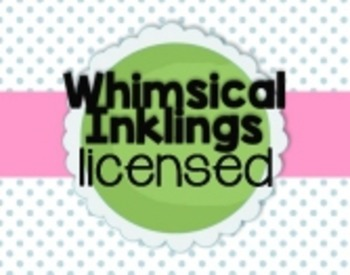 Whimsical Inklings One Time License Fee
