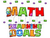 Whimsical Learning Goals Posters