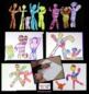 Art Lesson - Whimsical People - Inspired by Keith Haring
