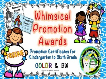 Whimsical Promotion Awards/Certificates