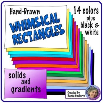 Whimsical Rectangle Frames