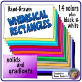 Whimsical Rectangle Doodle Frames