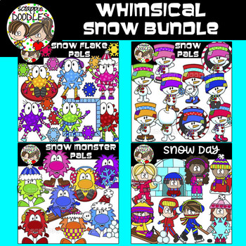Whimsical Snow Bundle {18.00 Value}