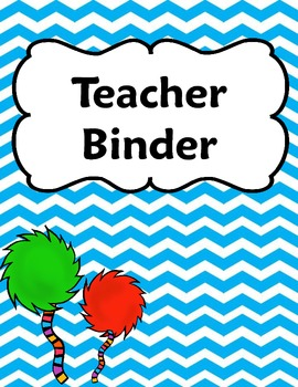 Whimsical Tufts and Chevron Binder Covers