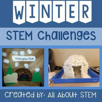 Whimsical Winter & January STEM Challenges