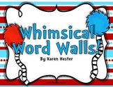 Word Walls & Classroom Decor Bundle: Whimsical!