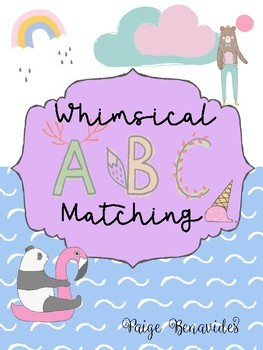Whimsy ABC Matching Cards