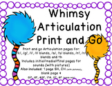 Whimsy Articulation, Print and Go
