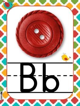 Whimsy Birds Alphabet Letter Posters